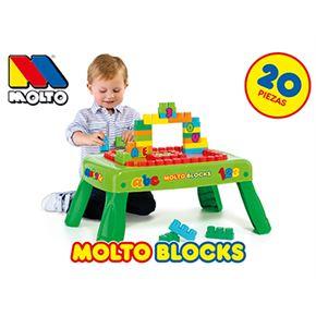 Molto mesa de bloques 20 piezas - 26514480