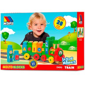 Molto blocks train - 26517470
