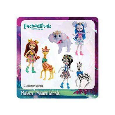 Enchantimal muñeca+animal surtido - 24555349