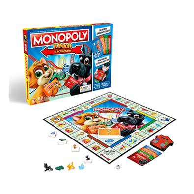 Monopoly junior eléctrico banking - 25547143