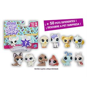 Little pet shops mini 2 pack surtido