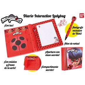 Diario interactivo ladybug