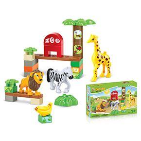 Bloques 30 piezas animales - 87862545