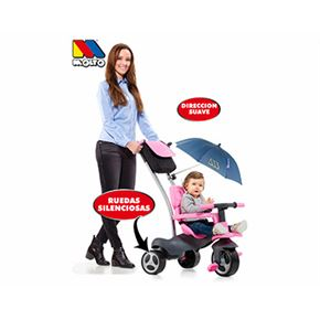 Triciclo rosa + bolsa - 26517201