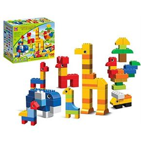 Bloques animales 100 piezas - 87874138