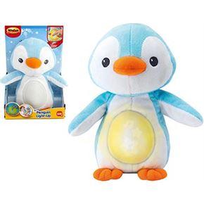 Pingüino con luz