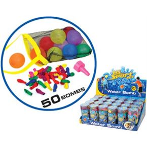 Globos de agua 50 piezas