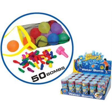 Globos de agua 50 piezas - 97212011