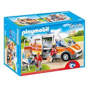 Ambulancia con luces y sonido - 30006685
