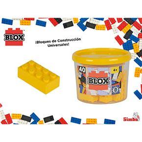 Blox- bote 40 bloques amarillo - 33318857