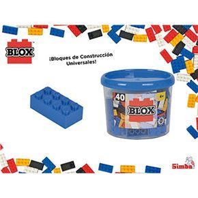 Blox-bote 40 bloques azul - 33318881