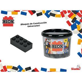 Blox- bote 40 bloques negro - 33318895