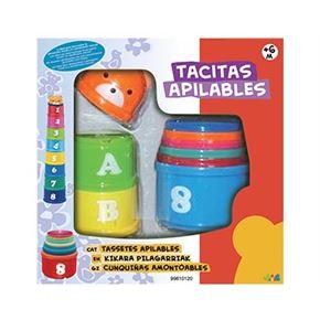 Tacitas apilables 9 piezas - 99810120