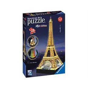 Tour eiffel night puzzle 3d 216 pz