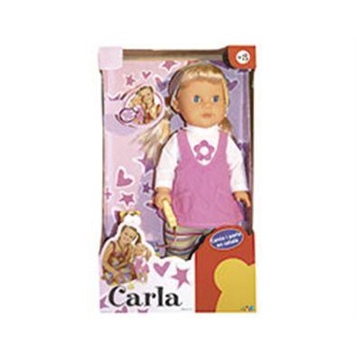 Carla passeja al seu gos canta i parla en català - 99816131