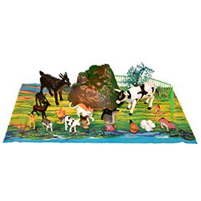 Animales de granja 22 piezas 2 surtidos - 95933723