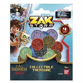 Pack 4 monedas zak storm - 02541500