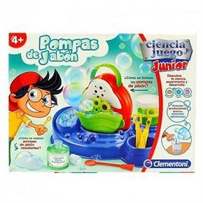 Ciencia junior laboratorio pompas jabón