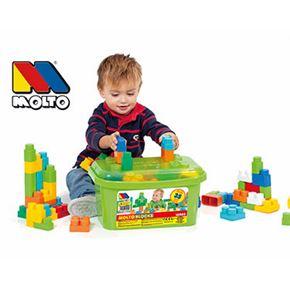 Cubeta bloques 35 piezas - 26516465