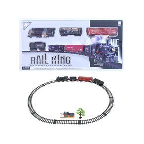 Circuito tren con luz rail king