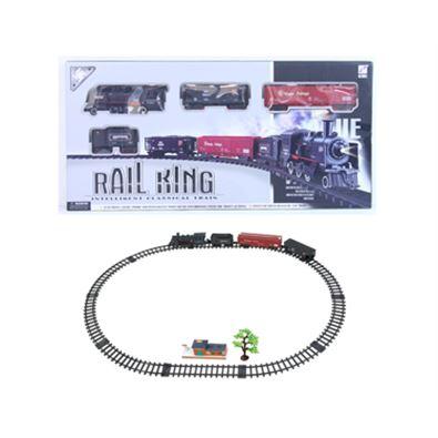 Circuito tren con luz rail king - 87870761