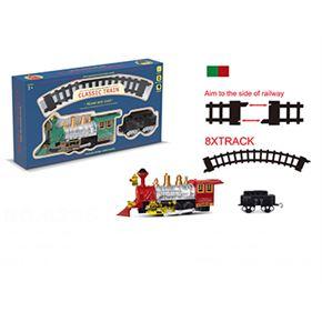 Circuito tren con luz classic