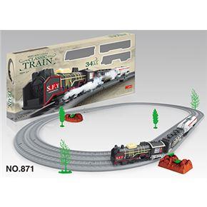 Circuito tren 34 piezas