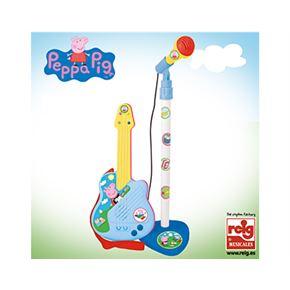 Micro y guitarra peppa pig - 31002322