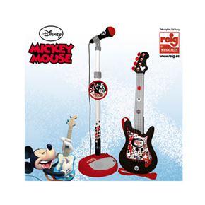 Conjunto guitarra y micro mickey - 31005363