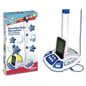 Micrófono con mp3 vintage stage - 07901042