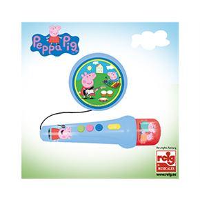 Micrófono con amplificador peppa pig - 31002321