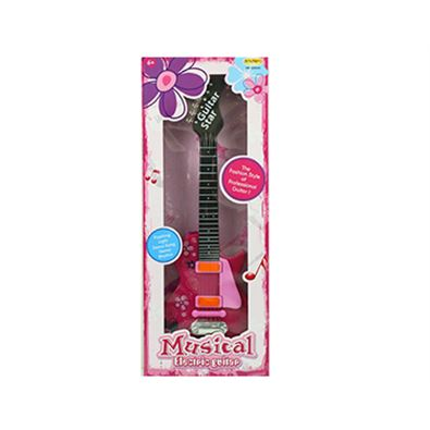 Guitarra electrica rosa - 87881830