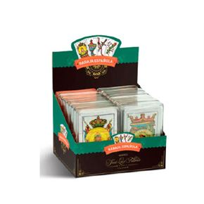 Baraja española caja plástico