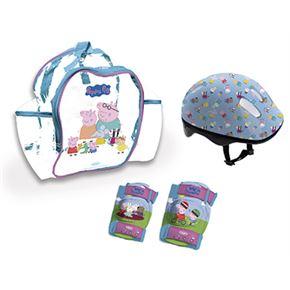 Peppa pig set 3 protecciones - 50500119