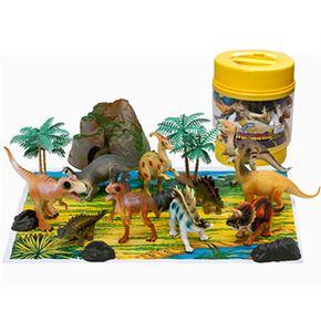 Cubo dinosaurios 20 piezas
