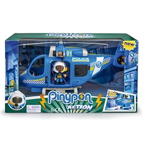 Pinypon action helicopter police