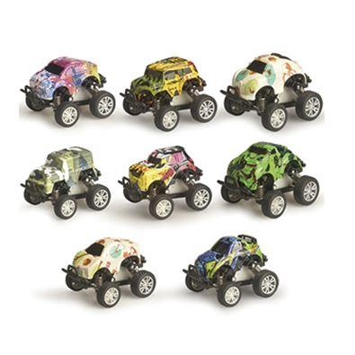 Caja 4 coches metal - 97206320