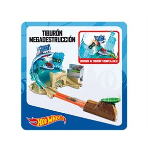 Hot wheels tiburon megadestrucción - 24558592