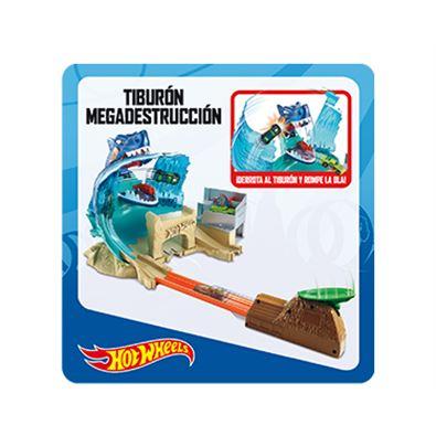 Hot wheels tiburon megadestrucción - 24558592