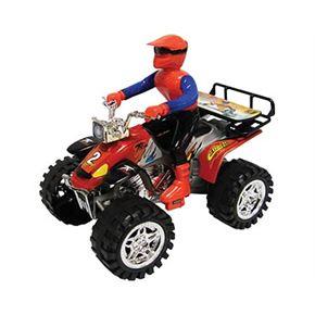 Quad friccion con motorista - 89814899