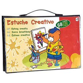 Estuche creativo 68 piezas - 99800120