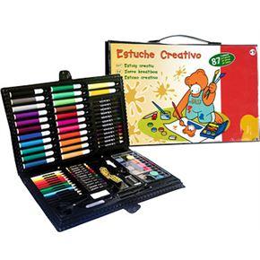 Estuche creativo 87 piezas - 99800160