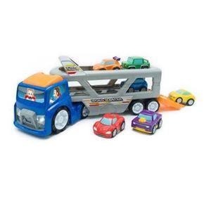 Camion transportador con 6 coches