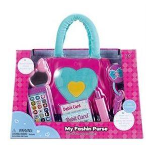 Bolso con telefono y accesorios belleza
