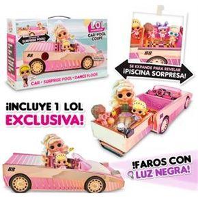 Lol car-pool coup con muñeca
