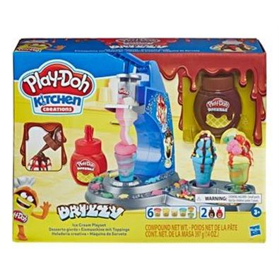 Play-doh drizzy ice cream playset - 25563586