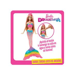 Barbie sirena luces de arcoiri - 24520765