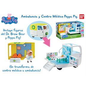 Ambulancia y centro médico pepa pig - 02506722