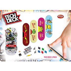 Tech deck 4 pack