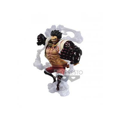 Figura one piece monkey d. luffy gear 4 - 00916224
